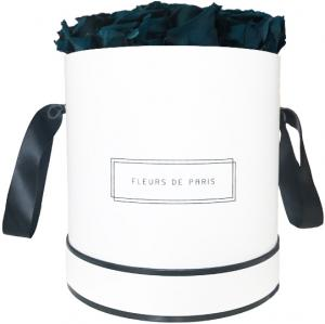 Infinity Collection Petrol Large weiss - rund