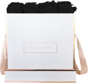 The Rosé Gold Collection Black Beauty Large weiss - eckig