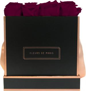 The Rosé Gold Collection Latin Cherry Large schwarz - eckig