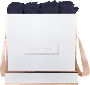 The Rosé Gold Collection Midnight Blue Large weiss - eckig