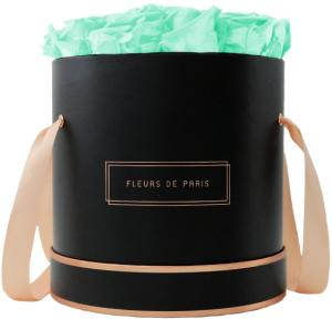 The Rosé Gold Collection Minty Green Large schwarz - rund