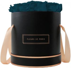The Rosé Gold Collection Petrol Large schwarz - rund