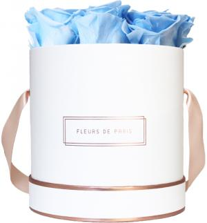 The Rosé Gold Collection Baby Blue Medium weiss - rund