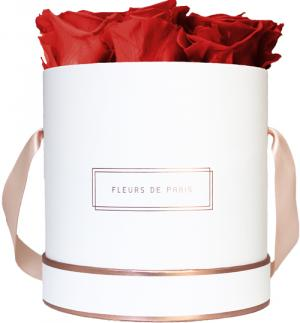 The Rosé Gold Collection Royal Red Medium weiss - rund