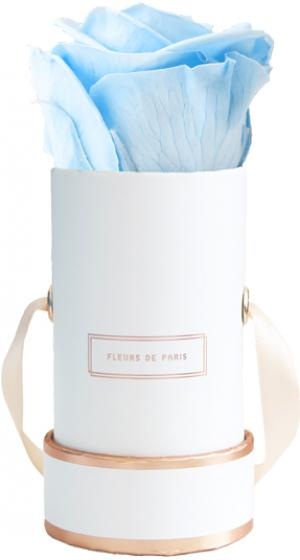 The Rosé Gold Collection Baby Blue Mini weiss - rund