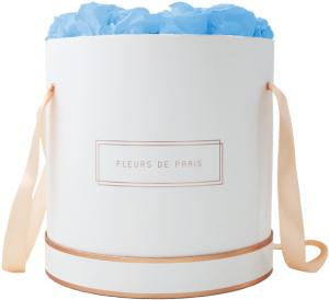 The Rosé Gold Collection Baby Blue Petit Luxe weiss - rund