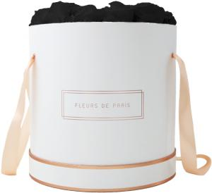The Rosé Gold Collection Black Beauty Petit Luxe weiss - rund