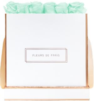 The Rosé Gold Collection Minty Green Petit Luxe weiss - eckig