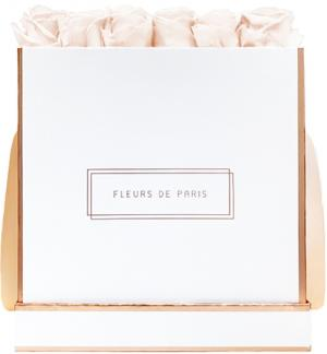 The Rosé Gold Collection Pastelle Peach Petit Luxe weiss - eckig