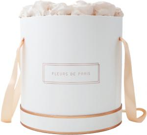 The Rosé Gold Collection Pastelle Peach Petit Luxe weiss - rund