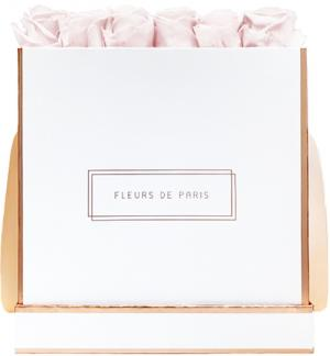 The Rosé Gold Collection Pastelle Pink Petit Luxe weiss - eckig