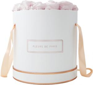 The Rosé Gold Collection Pastelle Pink Petit Luxe weiss - rund