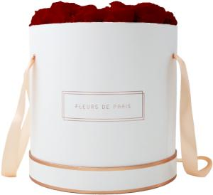 The Rosé Gold Collection Royal Red Petit Luxe weiss - rund