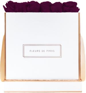The Rosé Gold Collection Velvet Plum Petit Luxe weiss - eckig