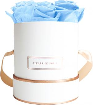The Rosé Gold Collection Baby Blue Small weiss - rund