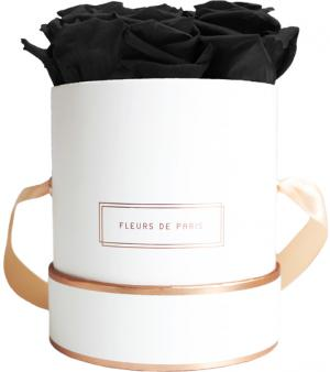 The Rosé Gold Collection Black Beauty Small weiss - rund