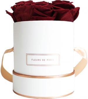 The Rosé Gold Collection Burgundy Small weiss - rund