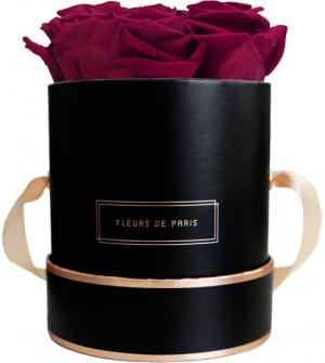 The Rosé Gold Collection Latin Cherry Small schwarz - rund
