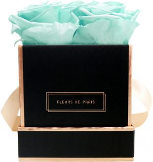 The Rosé Gold Collection Minty Green Small schwarz - eckig