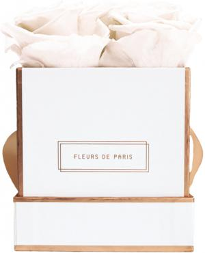 The Rosé Gold Collection Pastelle Peach Small weiss - eckig