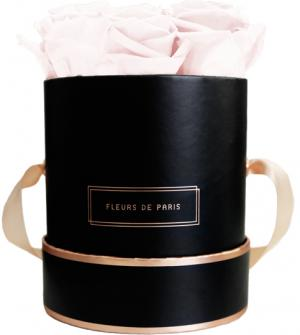 The Rosé Gold Collection Pastelle Pink Small schwarz - rund