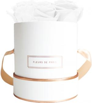 The Rosé Gold Collection Pure White Small weiss - rund