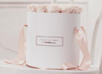 Fleurs de Paris Rosen roses Rosenbox Rose Gold Collection